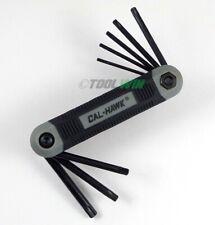 8 Pc Folding Torx Star Bit Key Driver Set T9 T10 T15 T20 T25 T27 T30 T40