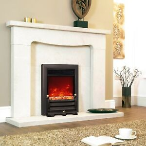 Celsi Electriflame XD Daisy Inset Electric Fire Brass, Silver & Black