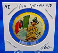 "1896 High Admiral Cigarettes Yellow Kid #115 Advert. Pin Pinback Button 1 1/4"""