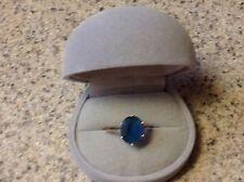 10K London Topaz Ring Size 6