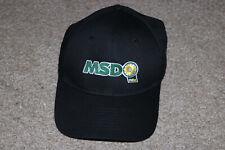💕WASTE MANAGEMENT MSD WM ADJUSTABLE BLACK HAT