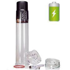 Rechargeable Electric Power Penis Pump for Men Girth Length Enhancer Enlarger