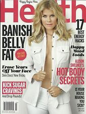 Health magazine Alison Sweeney Weight loss Best energy hacks Happy mood foods