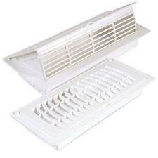 Imperial RG3052 Floor/Ceiling Pop-Up Register, 4 In H X 10 In W, Plastic, White