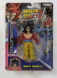 Jakks Dragonball GT Annihilation SS4 Goku Action Figure Carded DBZ