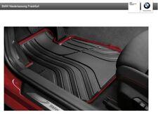 Original BMW Satz Allwettermatten vorne 3er F30 - F31 - GT F34 Anthrazit/Rot