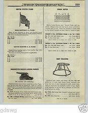 """1919 PAPER AD Winchester Breech Loading Cannon 10 Gauge 12"""" Cast Iron WRA"""