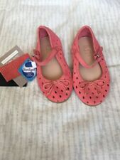 Zara Baby Pink Leather Shoes. Size 19 UK 4 Baby Bnwtags