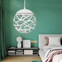 Ceiling Pendant Light 20CM Ball-Shape Lamp Iron Chandelier Modern decor USA