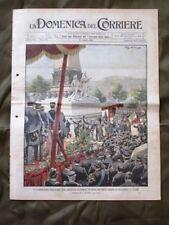 La Domenica del Corriere 27 Agosto 1905 Crimea Carestia in Spagna Stato Maggiore