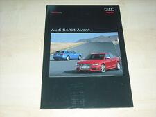 56591) Audi S4 + Avant Pressemappe 09/2008