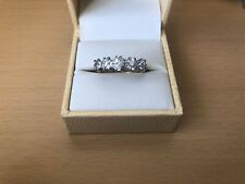 Stunning 1.70ct old cut diamond ring 18ct 5 stone Victorian Decoration gold gift