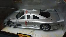 1/26 Maisto Mercedes Benz CLK GTR Street Ver in Silver NIB