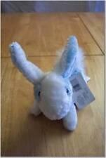 "Animal Alley BLUE & WHITE BUNNY RABBIT 6"" Plush Toy STUFFED ANIMAL NEW"