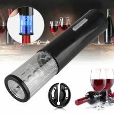 Electric Wine Bottle Opener Decap With Foil Pourer Cutter Vacuum Stopper Se JQA