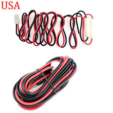 DC Power Cable T Shape for Kenwood TM-G707 TM-D700 ICOM IC-F1610 IC-F2610