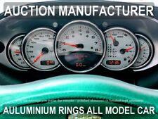 Porsche  911 996  1998-2005  5-teilig Aluminium   Tachoringe / Tacho Ringe