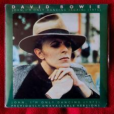 "DAVID BOWIE 7"" vinyl 45 giri John, I'm Only Dancing (Again) 1979 BOW 4"
