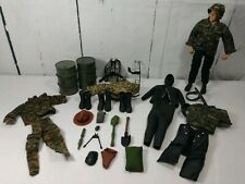 Gi Joe Man (1996) & Accessories ARMY Camp Gear DIVE Wet Suit BOOTS Gear A1