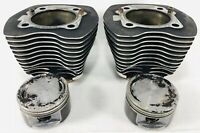 GENUINE HARLEY DAVIDSON 88ci FACTORY CYLINDERS & PISTONS TWIN CAM 16593-99