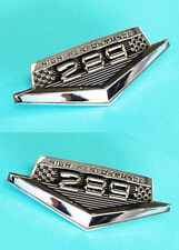 NEW! 1965-1966 Ford Mustang 289 HIPO Fender Emblem Set both Left and Right Side