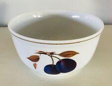 """Evesham Gold Small Bowl Porcelain Royal Worcester Fruit Gold Trim 5-3/4 x 3"""""""