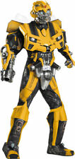 Morris Costumes Men's Transformers Bumblebee Adult Complete Outfit XL. DG28527D
