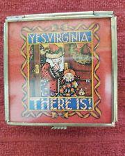 Mary Engelbreit trinket box Yes, Virgina There is! Christmas santa