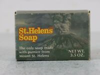 Vintage St. Helens Bar Soap 1981 Made With Pumice From Mount St. Helens USA