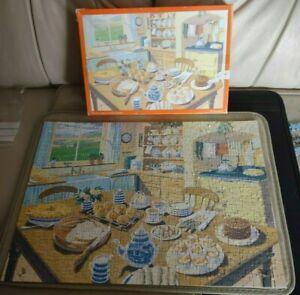 500 PIECE JIGSAW PUZZLE YORKSHIRE TEA HEARTBEAT TEATIME ANDREW DAVIDSON