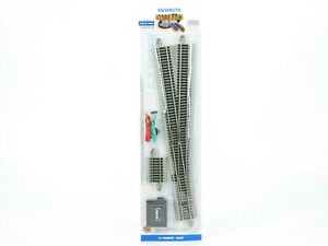 HO Scale Bachmann E-Z Track 44560 #6 Turnout Right Track SEALED Nickel Silver