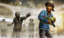 """111 Hot Video Game - Clementine The Walking Dead Season Two 24""""x14"""" Poster"""