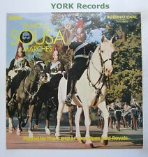 BAND OF THE BLUES & ROYALS - Famous Sousa Marches - Ex Con LP RCA INTS 1332