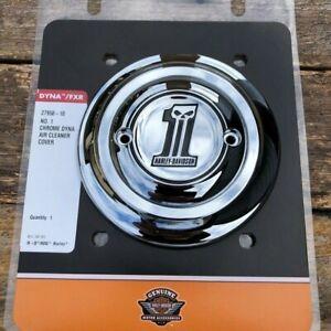 Harley Davidson Chrome OEM Air Cleaner Cover - Dyna - NEW - #27958-10