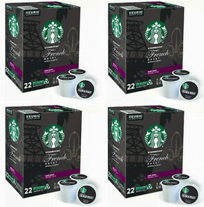 NEW* Starbucks French Dark Roast Coffee K-Cup Pods - *88 Count *FreeShipping