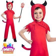 Devil Boy 5-6 Years Costume Halloween Angels Demons Fancy Dress