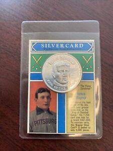 1992 Silver Card Honus Wagner Coin 1oz Silver