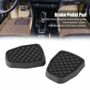 1 Pair Rubber Brake Pedal Cover For Subaru Forester IMPREZA  Outback WRX