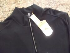 NWT TOMMY BAHAMA - NEW EVERSUEDE HALF ZIP PULLOVER SWEATSHIRT - L - PIMA COTTON