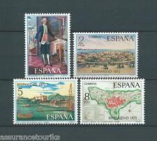 ESPAGNE - 1972 YT 1761 à 1764 - TIMBRES SELLOS NEUFS** LUXE
