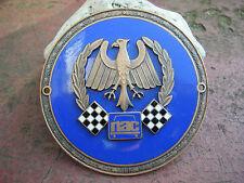 NAC - Neuer Deutscher Automobil Club SPORTABZEICHEN Plakette Car Badge DKW