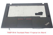 Lenovo ThinkPad T460P Palmrest Touchpad Speaker Fingerprint Power USB 01AV925