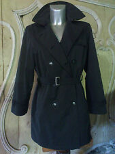 TRENCH COAT  VESTE GRISE ANTHRACITE  TAILLE 38 DAY D WEAR