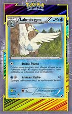 Lakmécygne - N&B: Noir et Blanc - 37/114 - Carte Pokemon Neuve Française