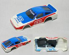 1pc TOMY AFX Turbo SuperG Nissan 280 Z ZX 260 240 #33 SCCA Wide HO Slot Car BODY