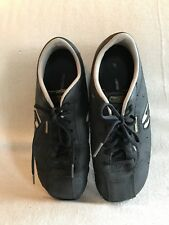 Skechers Sport  Womens Athletic Shoes Black Size 8M Leather Upper Balance UGC