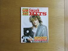 SMASH HITS MAGAZINE MAY 1985 DURAN DURAN - DAMNED - U2 POSTER 1980's POP MUSIC