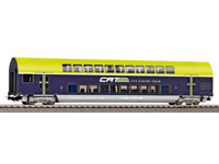 Piko 58811 HO Gauge Hobby OBB CAT 2nd Class Bi-Level Coach VI