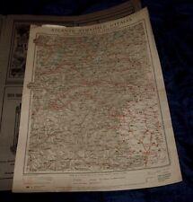 SUSA - MONVISO 1925 ATLANTE STRADALE D'ITALIA TCI Foglio n. 9