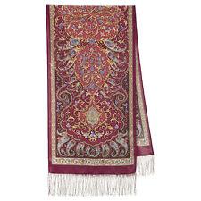 Pavlovo Posad Scarf 100% silk (crepe de Chine) 50x190cm (19x75inhes) 1633-56